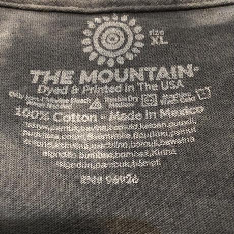 100%cotton  タイダイビックプリントシャツ