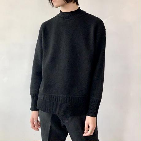 Inswirl WOOL KNIT PULL OVER  【 BLACK  】