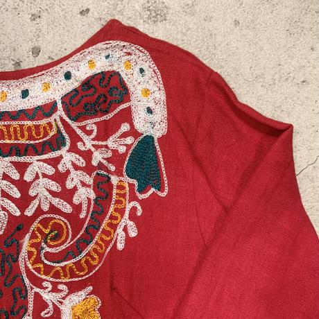 インド 刺繍 ワンピース 1