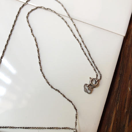 【USED】シルバーチェーンネックレス