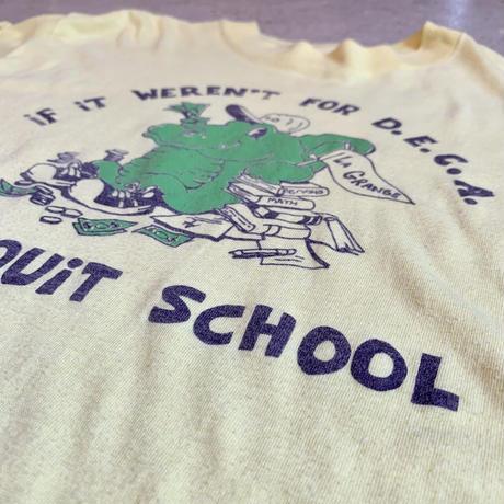〜1980's ワニプリント ロングTシャツ