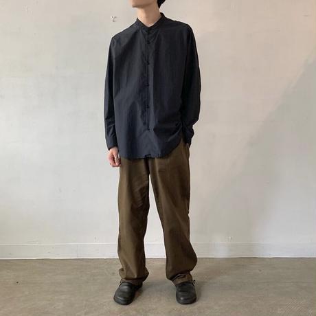 NO CONTROL AIR マオカラージャストサイズシャツ / Navy / M