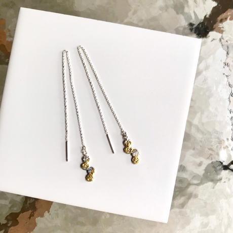 Jona    tenten chain pierce / white