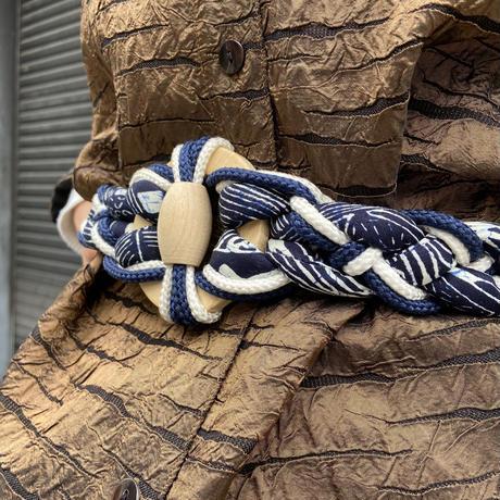 布編み込みベルト