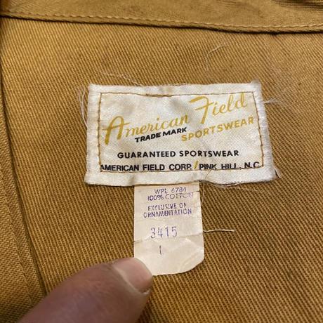 "〜70's ""American Field"" ハンティングベスト"