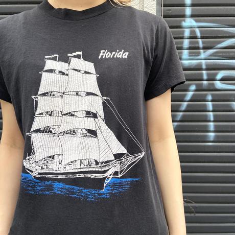 "80's〜 ""Florida"" プリント Tシャツ"
