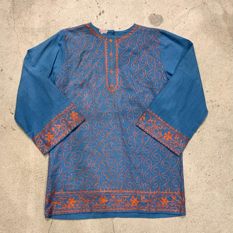 インド 刺繍 チュニック