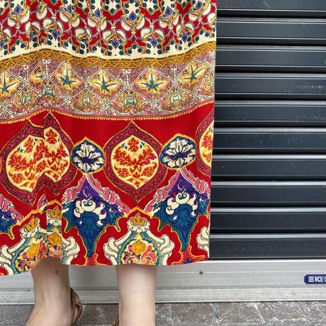 アメリカ製 ネイティブ柄スカート