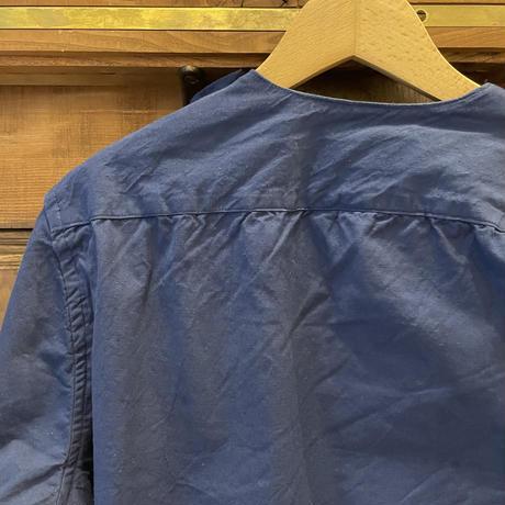 ルーマニア スリーピングシャツ S/S ネイビー染め