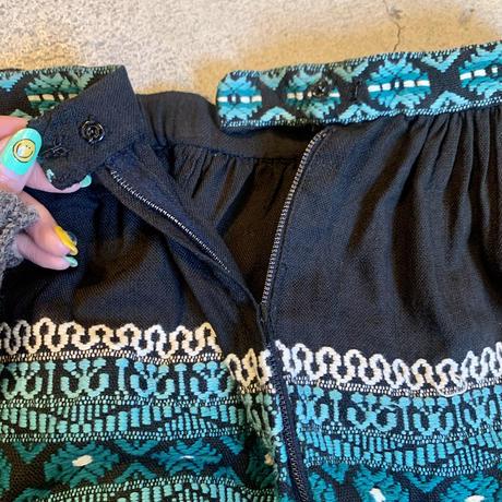 グアテマラ刺繍 スカート