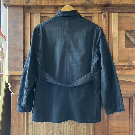 ブルガリア スリーピングシャツ/ ブラック染