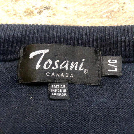 Made in CANADA コットンニットセーター