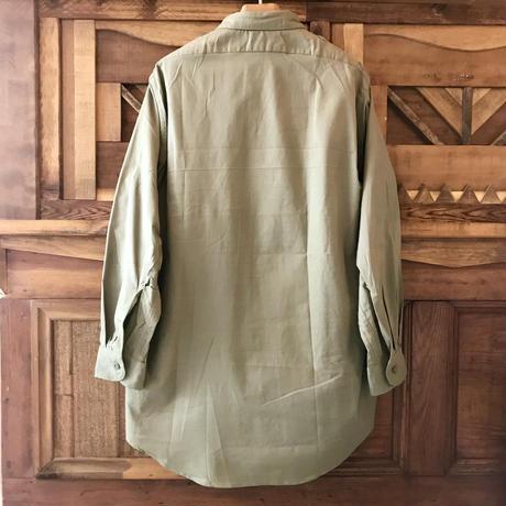 1960's  チェコ グランパシャツ 39 dead stock
