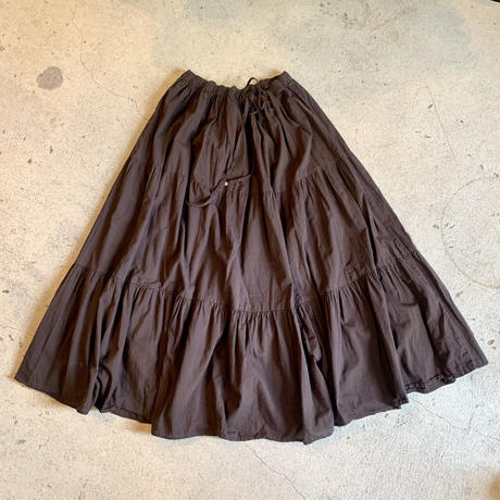 インド製 ティアード スカート