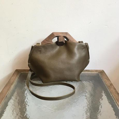 EATABLE「TIN BAG PLUS HEX grey/khaki」