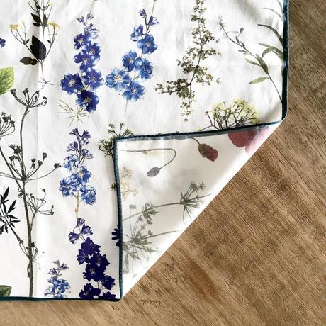 ASEEDONCLÖUD  handkerchief 【Pressd Flower】