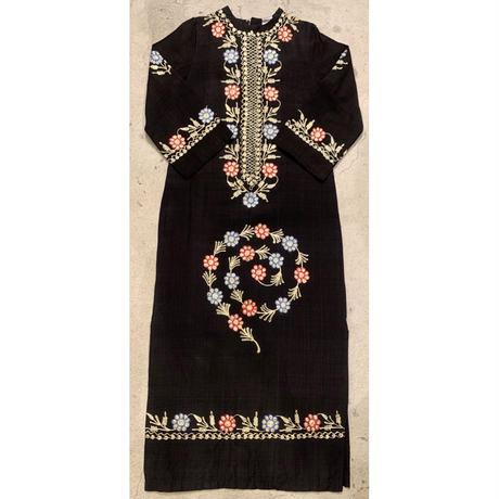パキスタン 刺繍 ワンピース 10
