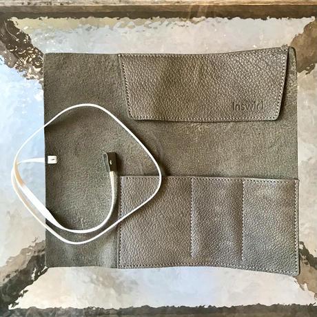 Inswirl  ROLL PEN CASE /OLIVE