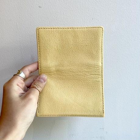 Inswirl  CARD CASE / YELLOW