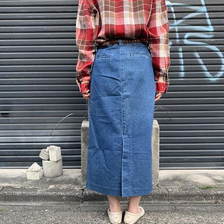 Lee デニムタイトスカート