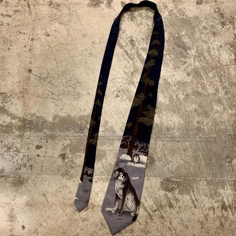 アメリカ製 オオカミ ネクタイ