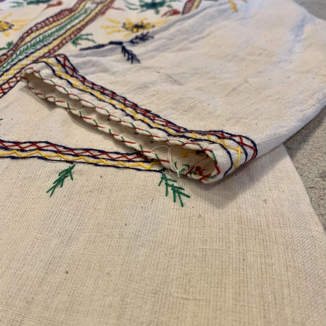 パキスタンコットン 刺繍 ワンピース