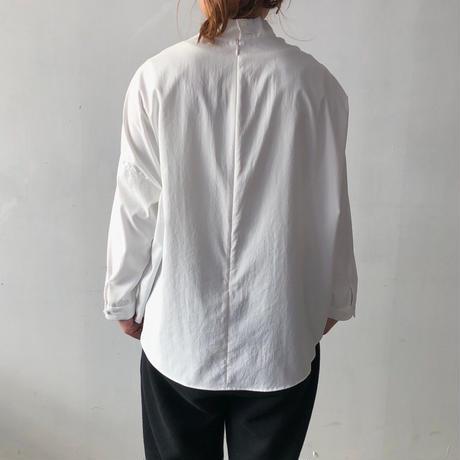 NO CONTROL AIR スタンドカラープルオーバーシャツ / Off White / 38