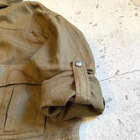 フード付き スナップボタンジャケット