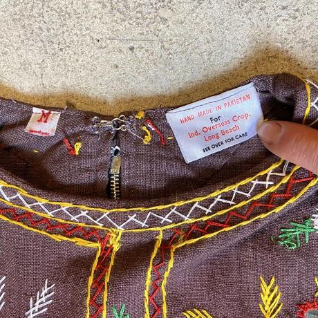 パキスタン 刺繍 チュニック 12