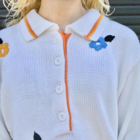 70's~80's ニットシャツ
