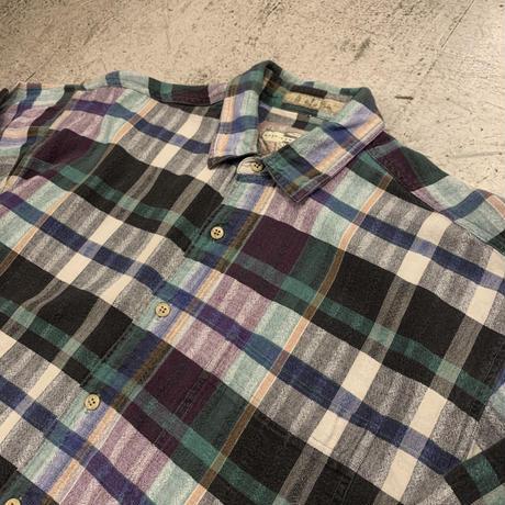 インド製 コットン ネルシャツ