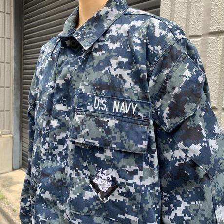"""US NAVY""   SMALL-SHORT  ミリタリージャケット"