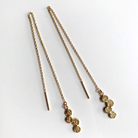 Jona    tenten chain pierce / gold