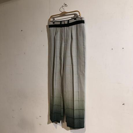ohta「windowpane pants」