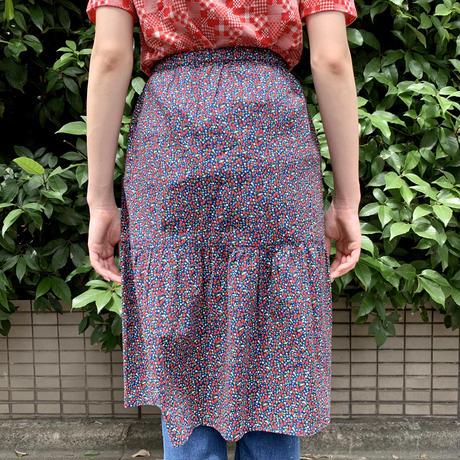 イチゴ柄 切替スカート