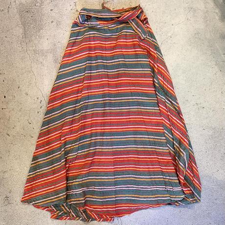 パキスタン製 ラップスカート