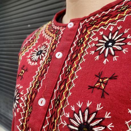 パキスタン 刺繍 チュニック 8
