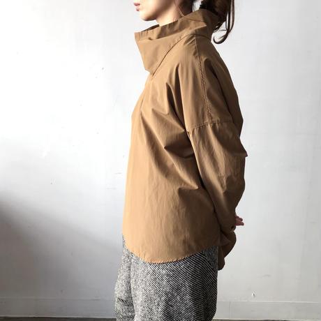NO CONTROL AIR ビッグタートルプルオーバーシャツ Coyote Brown/XS