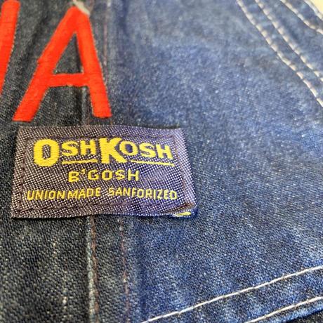 """アメリカ製 """"osh kosh"""" オーバーオール"""