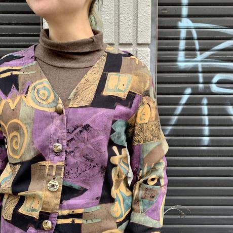 アメリカ製 ランダムボタン レーヨンシャツ
