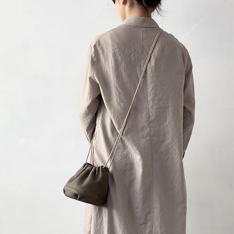 Inswirl KINCHAKU BAG SMALL【OLIVE】 紐ロングタイプ