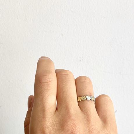Jona    tenten ring white/11号