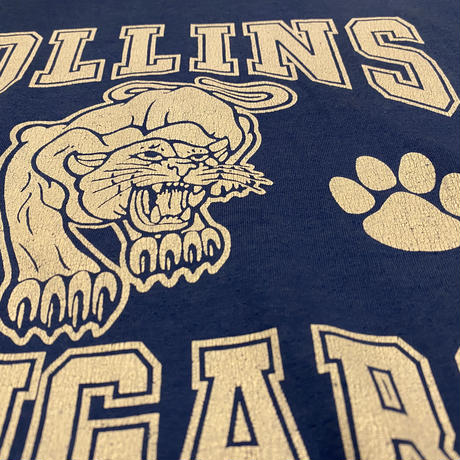 """""""COLLINS  COUGARS""""  Tシャツ"""