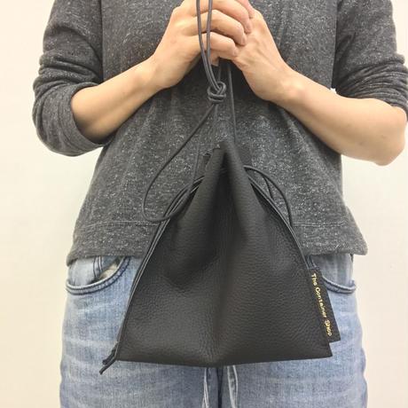 レザー(フラット巾着)