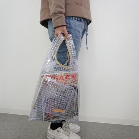 スーパーマーケットバッグ(Lサイズ)ポーチ付き