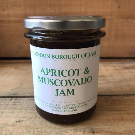 London Borough of Jam アプリコット&マスコバド糖のジャム