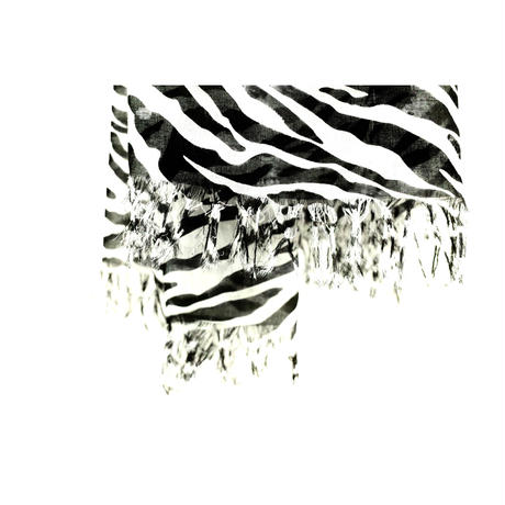 FRINGE STOLE -ZEBRA MODAL-
