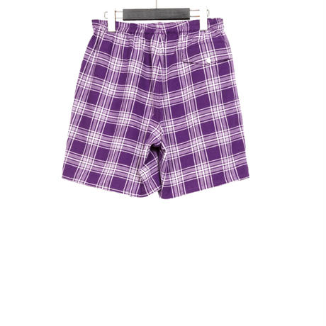 EASY SHORT PANTS -SCOTTO CHECK FLANNEL-