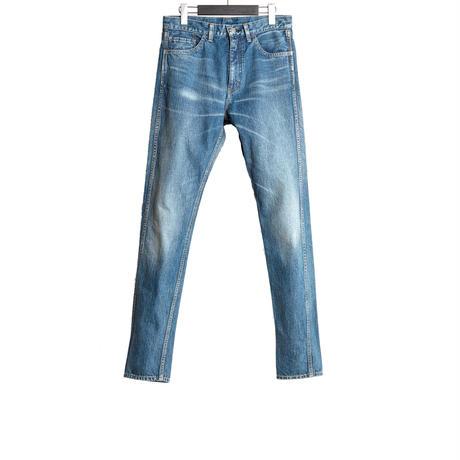 5 POCKDT DENIM PANTS -USED WASHED-