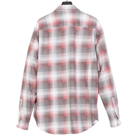 STANDARD SHIRT -OMBRE CHECK FLANNEL-